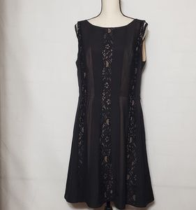 Jessica Simpson black dress